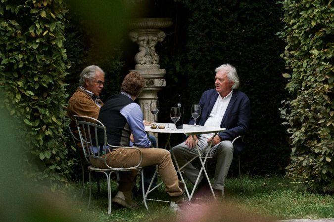 Alain Raynaud, Arnaud Christiaens and Hubert de Boüard - Bordeaux