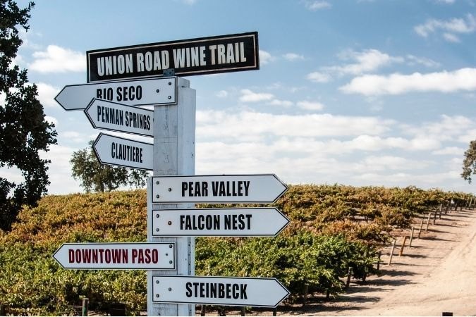 Paso Robles - Californian red wines