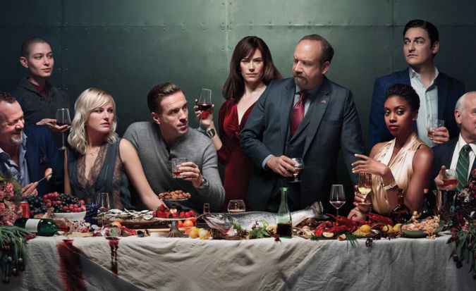 The cast of Billions on Netflix