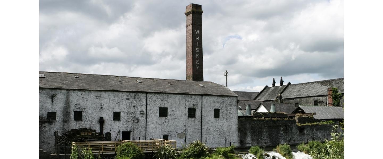 Irish whiskey distillery
