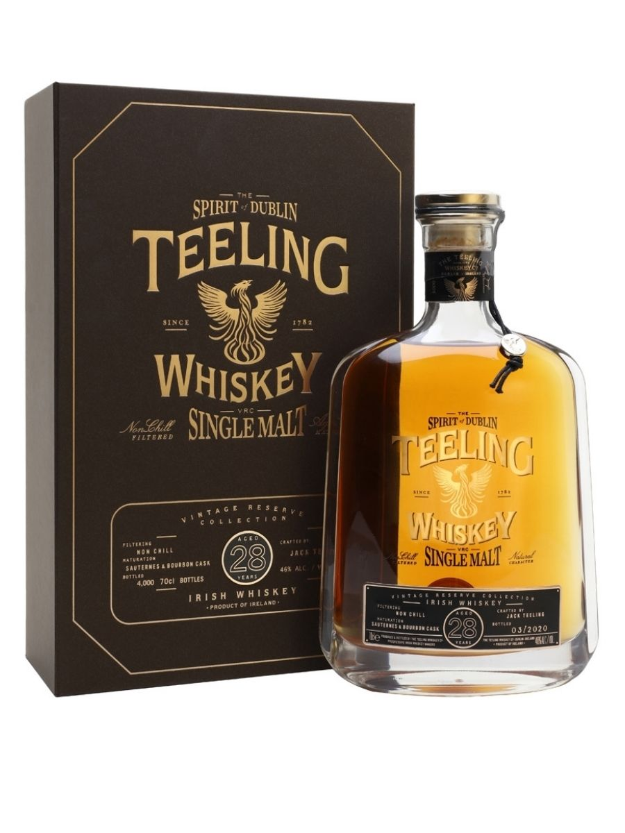 Teeling Whiskey 28 Year Old Single Malt Whiskey