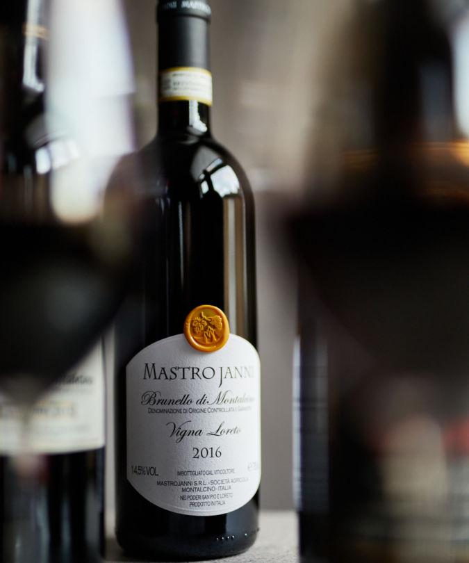 Brunello di Montalcino 2016 vintage