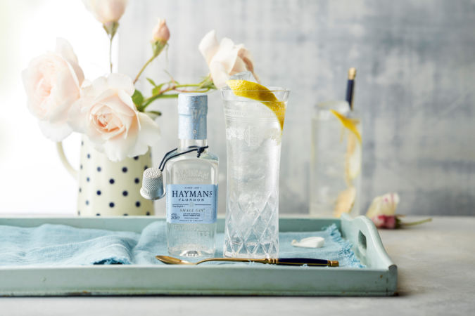 Low alcohol Hayman's Small G+T