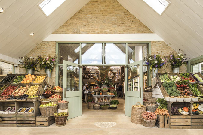 daylesford organic farm shop in The Cotswolds