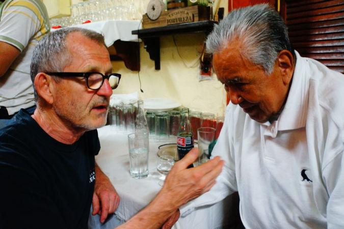 Tomas with Don Javier Delgado - Laura Foster