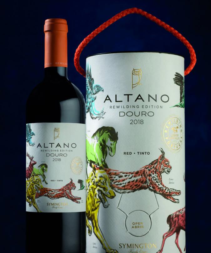Altano rewilding wine