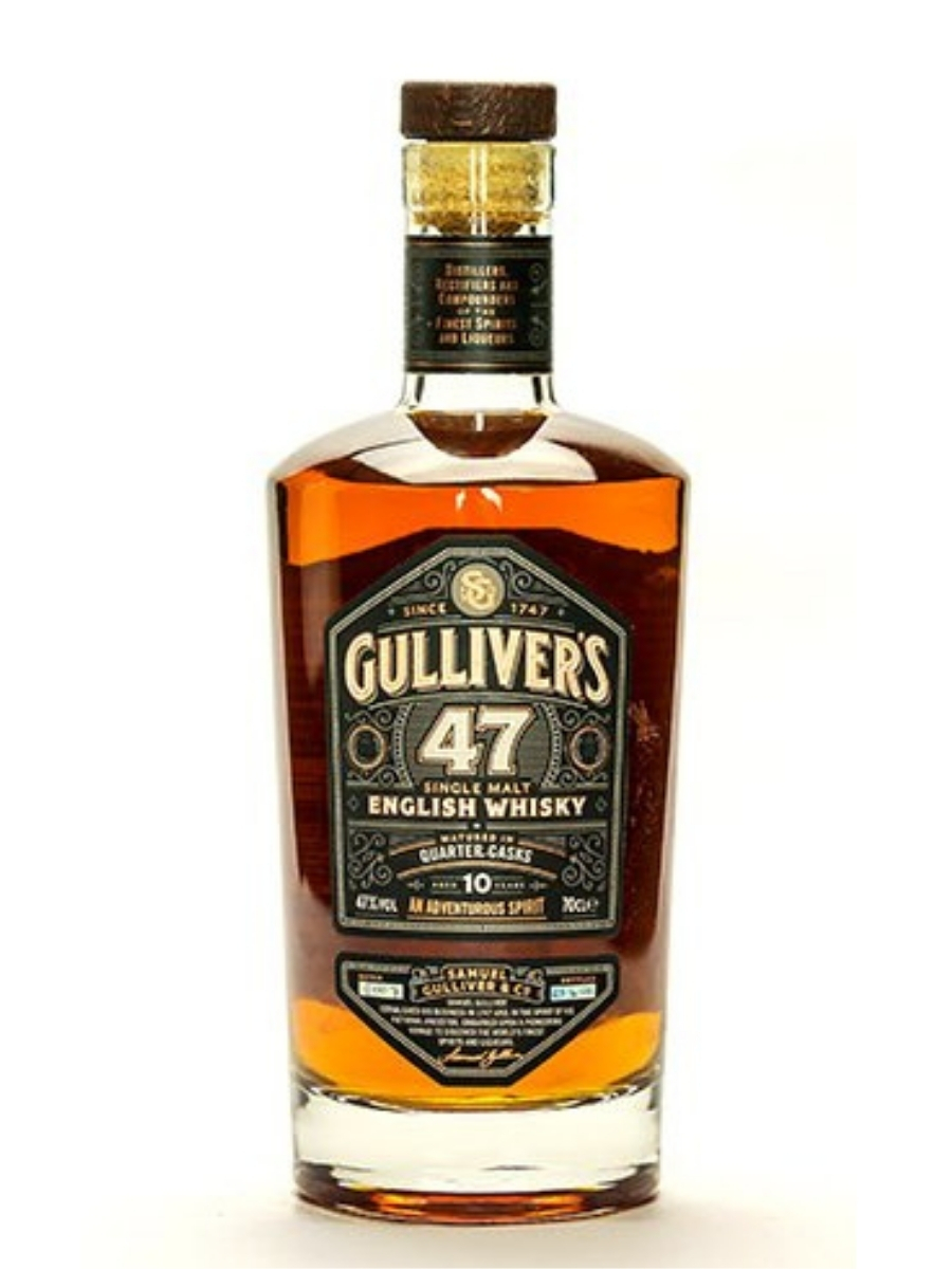 Gulliver's 47 10 YO Single Malt English Whisky