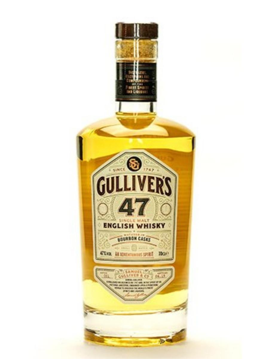 Gulliver's 47 Single Malt English Whisky