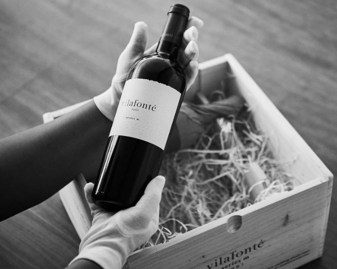 South African wine Vilafonte Series M 2003 wine