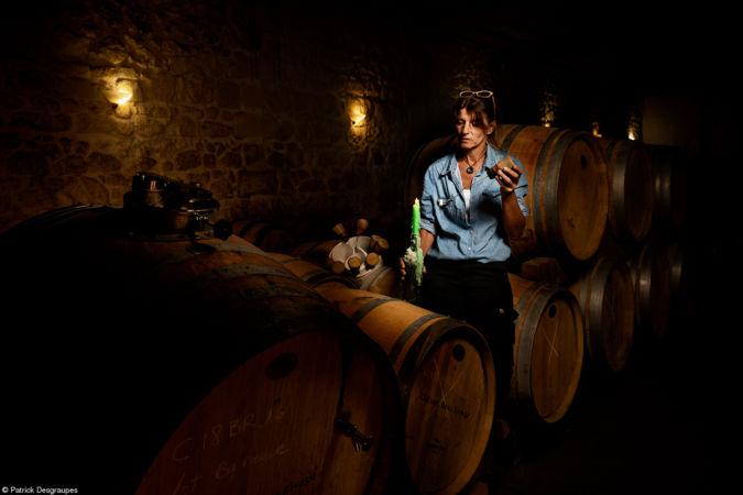 Patrick Desgraupes In the cellar of barrels