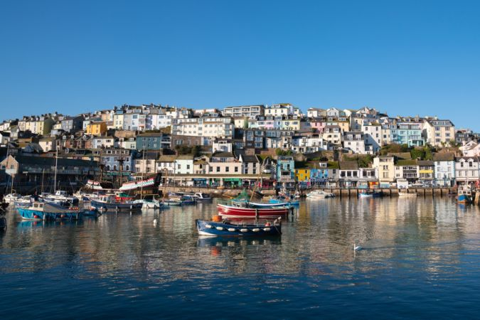 Brixham in the English Riviera, famous for its fishing