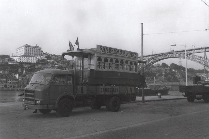 Sandeman Porto Transport in Vila Nova de Gaia