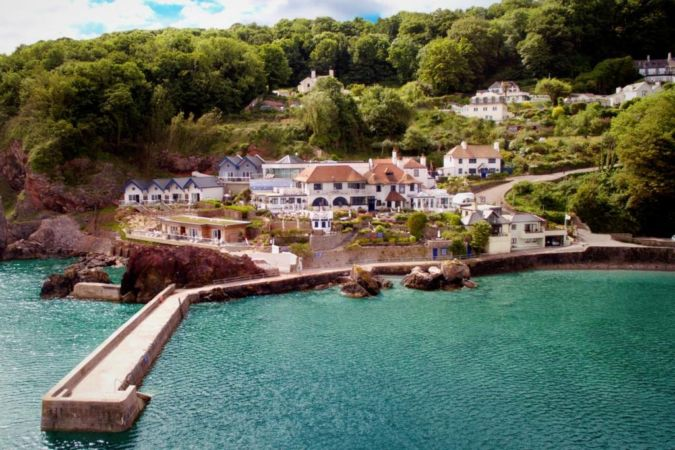the cary arms and spa in the english riviera