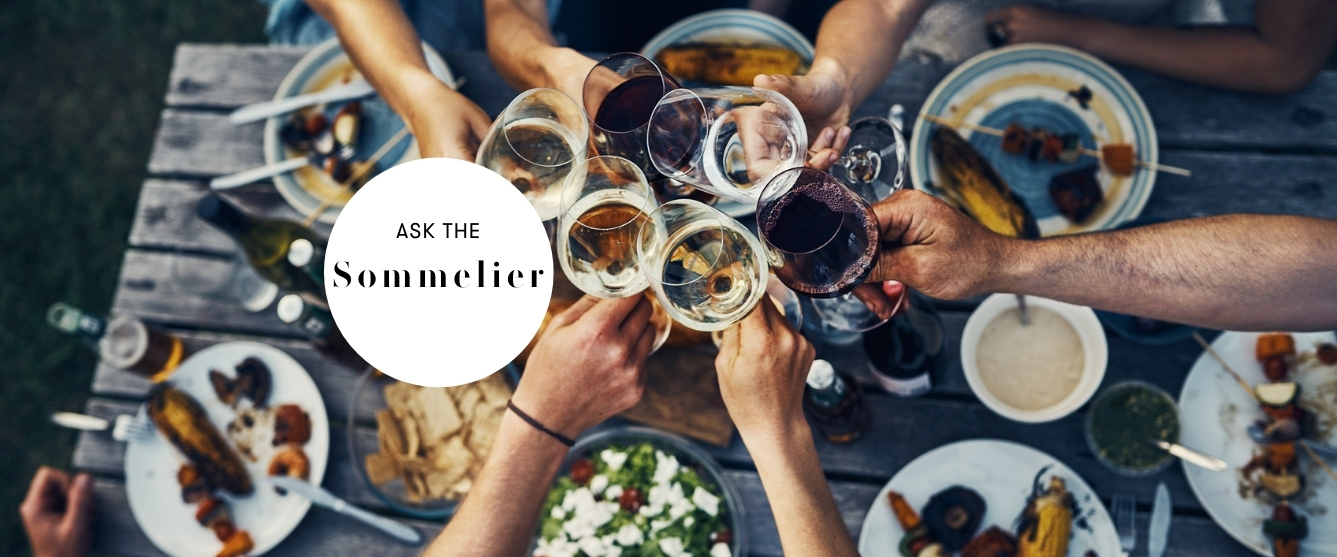 ask the sommelier barbecue wine