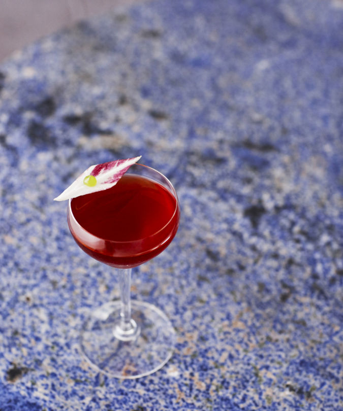 Lyaness makes sustainable drinks like this cocktail