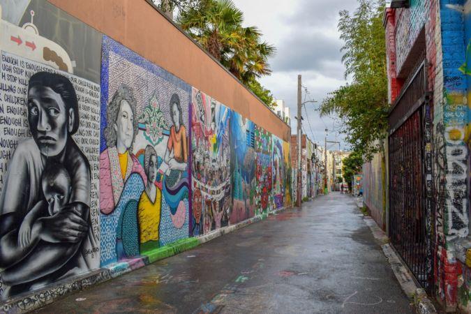 San Francisco's colourful Mission district