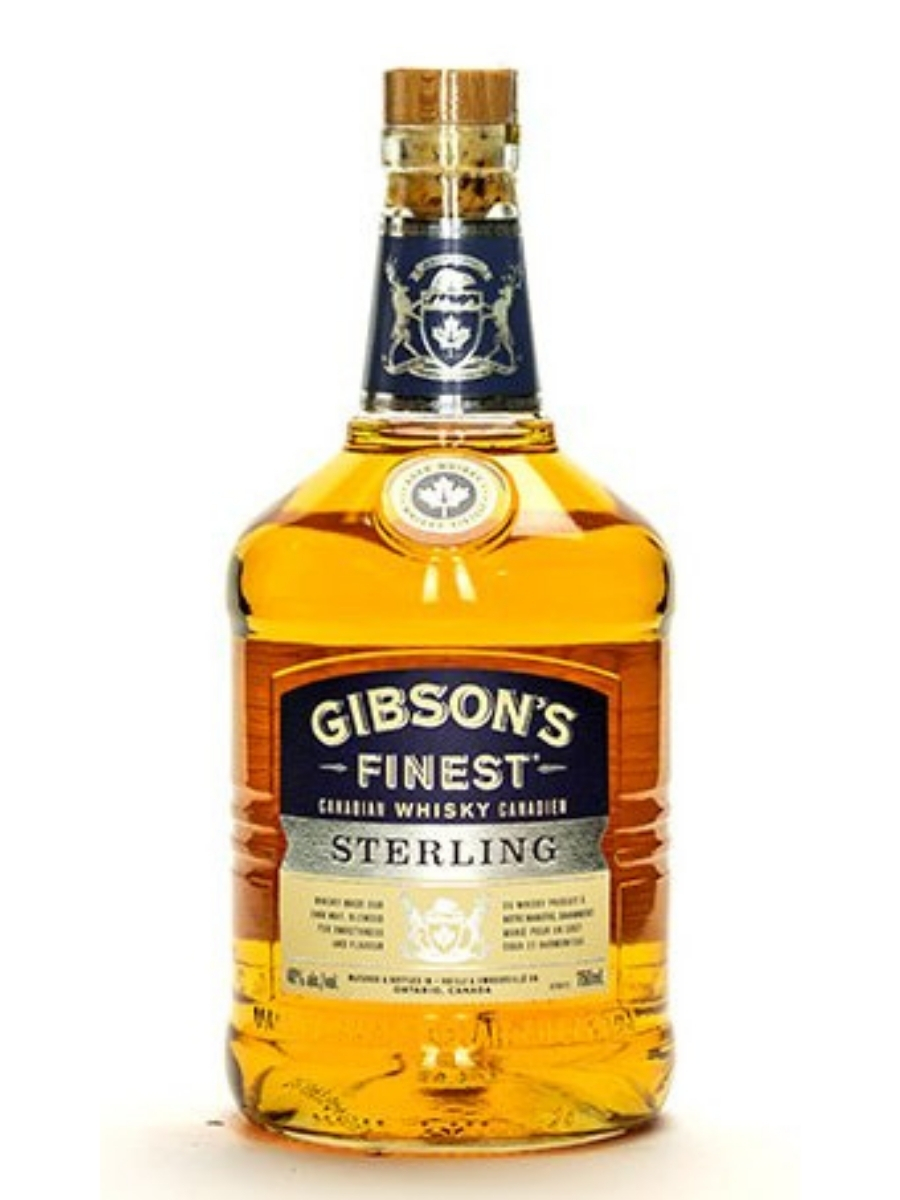 Gibson's Finest Sterling Canadian Whisky