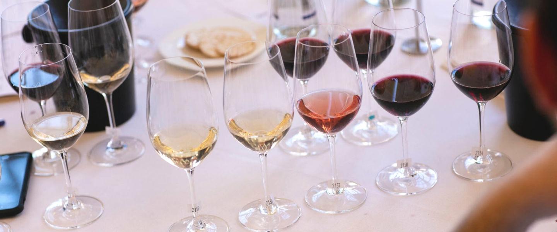 IWSC wine judging