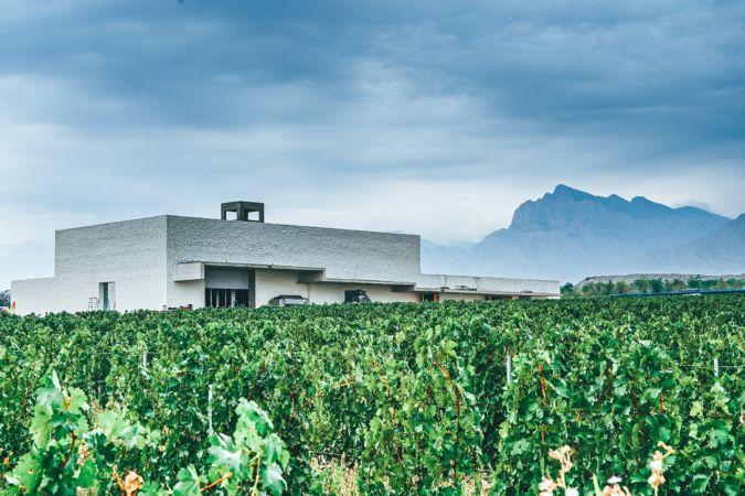 The winery at Ningxia's Jade Vineyard in China