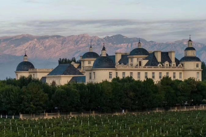 Chateau Changyu–Moser XV in the Ningxia wine region of China