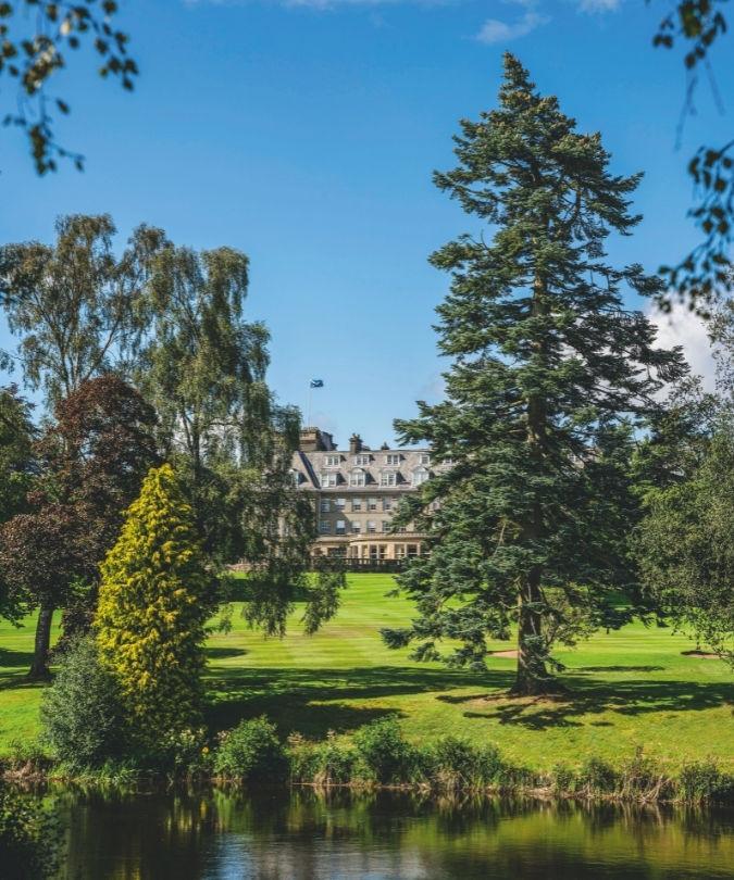 Gleneagles hotel in Scotland