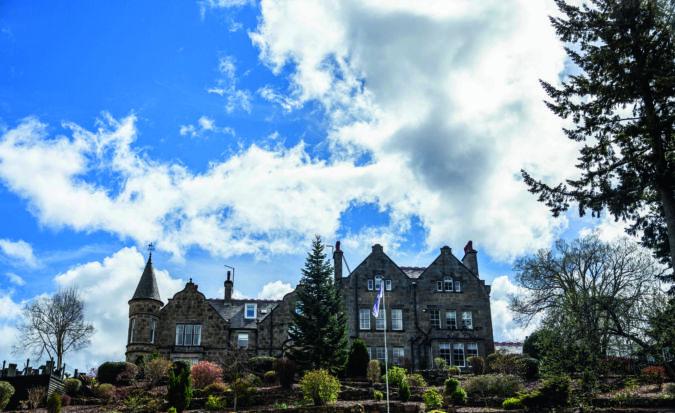 Dowans Hotel in Scotland
