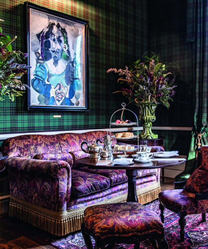 Afternoon Tea in The Drawing Room at The Fife Arms