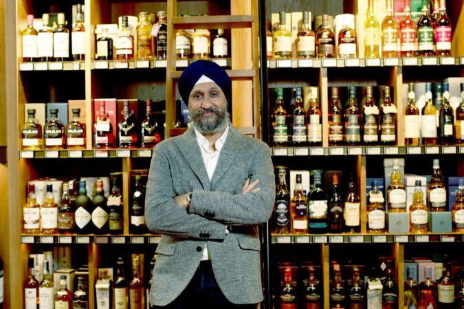 Sukhinder Singh whisky collector
