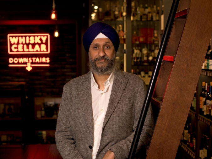 Sukhinder Singh owns one of the largest whisky collections