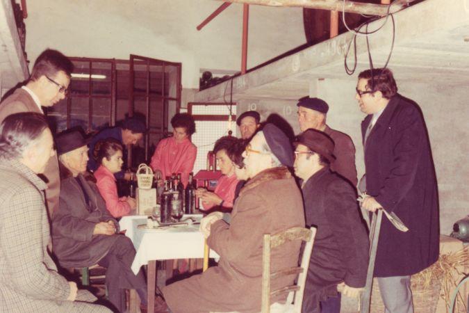 ricolmatura first in use at Biondi-Santi