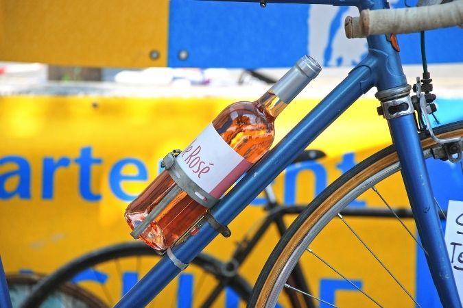 Wine bike – Tour de France