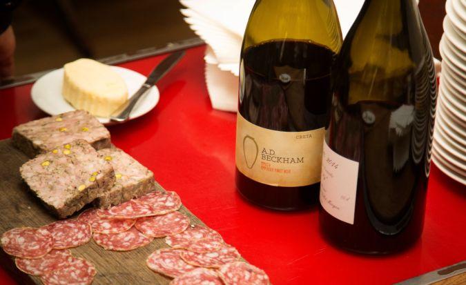 charcuterie at terroirs wine bar