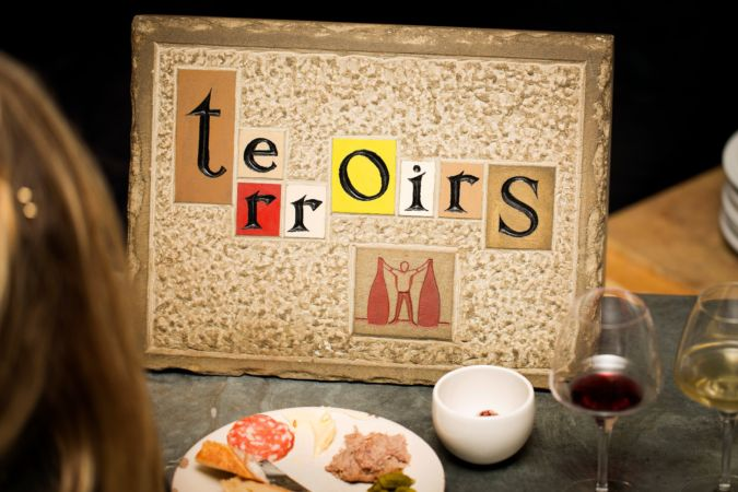Terroirs sign