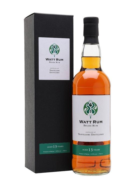 Watt Rum, 13-Year-Old, Travellers Distillery, Belize