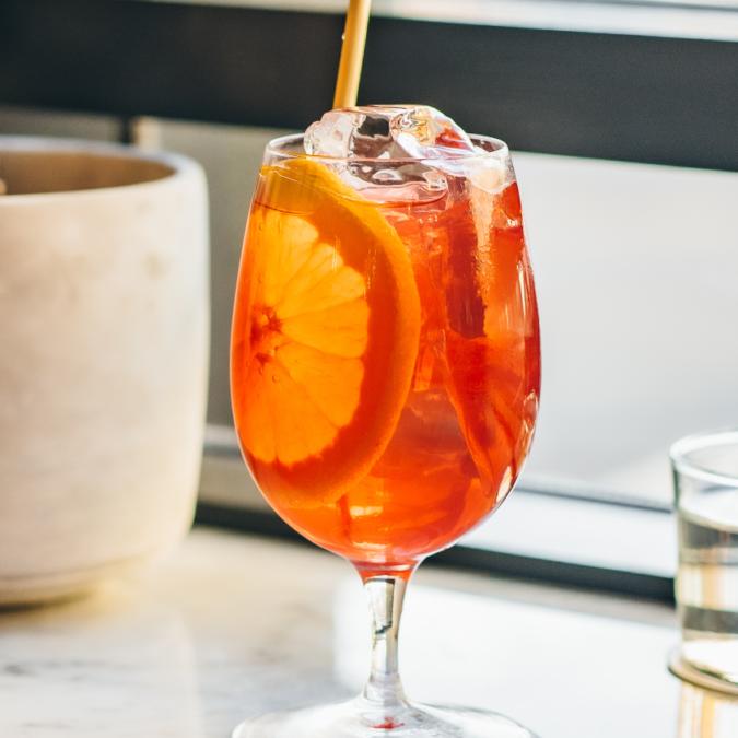bar swift's spritz cocktail