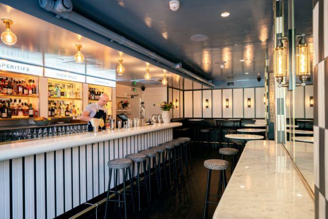 Swift cocktail bar