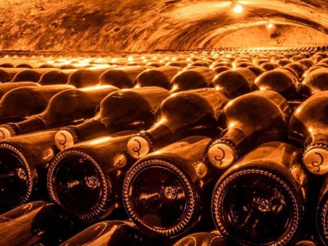 Billecart-Salmon cellars - experimental
