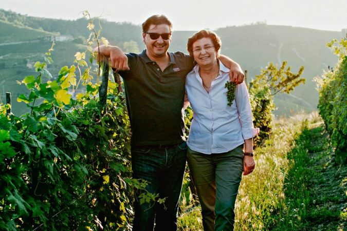 Davide and Esther Rosso of Giovanni Rosso
