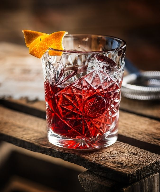 Negroni – canned cocktails