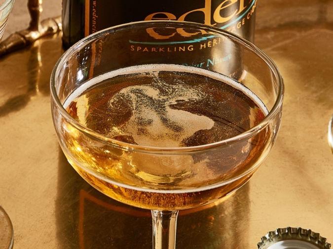 Brut Nature cider from Eden Ciders