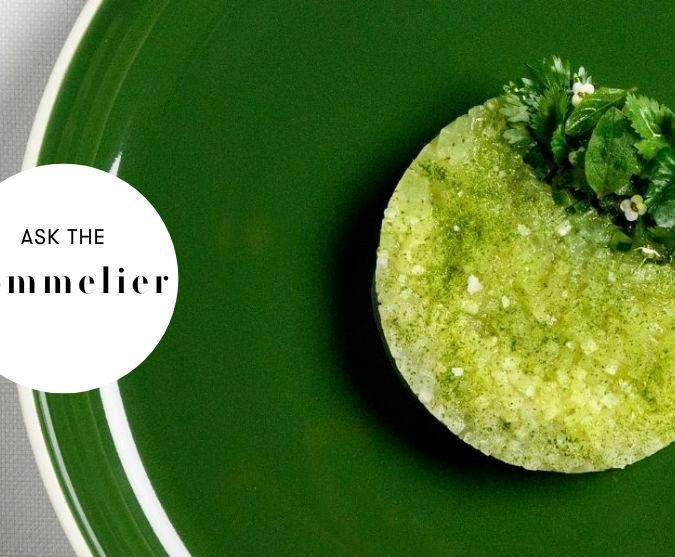 Cucumber with melon and smoked daikon – vegan
