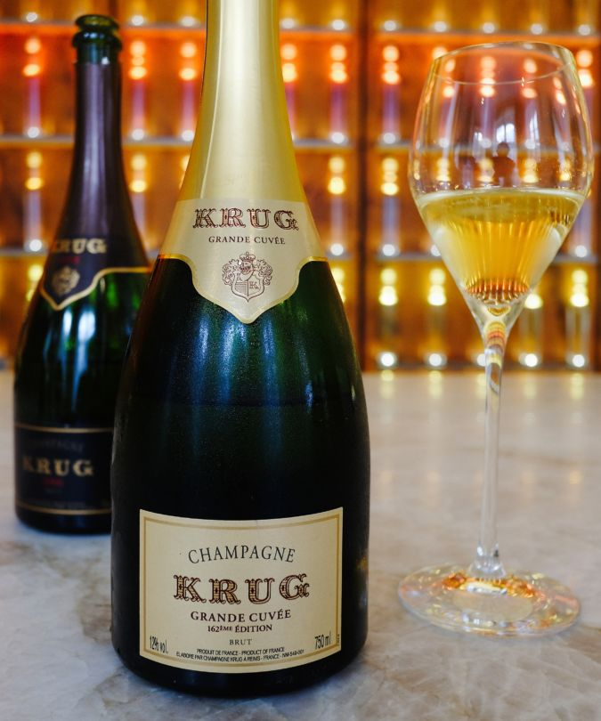 Krug bottle