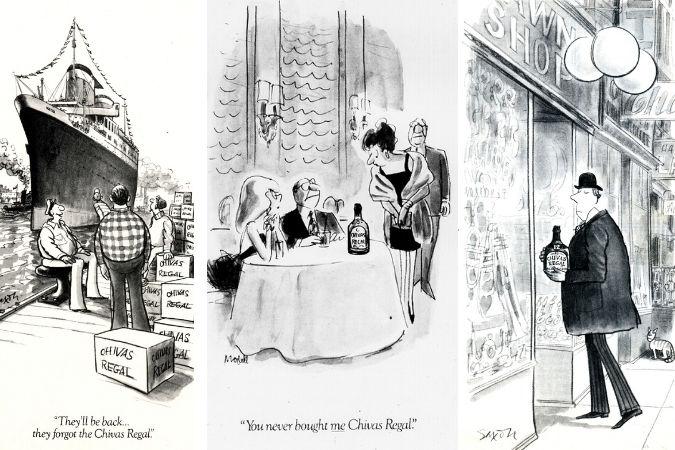 Chivas Regal cartoons