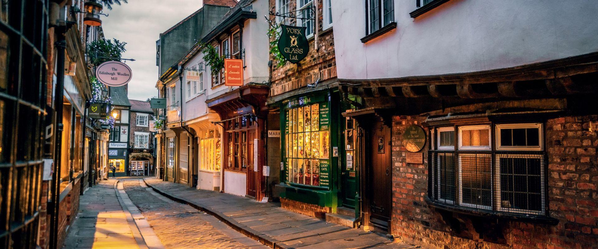 The Shambles in York, UK