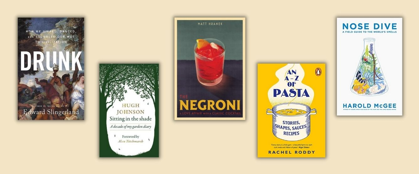 food and drink book covers
