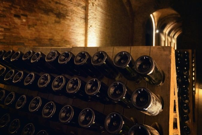 Italian sparkling wine made in the traditional method