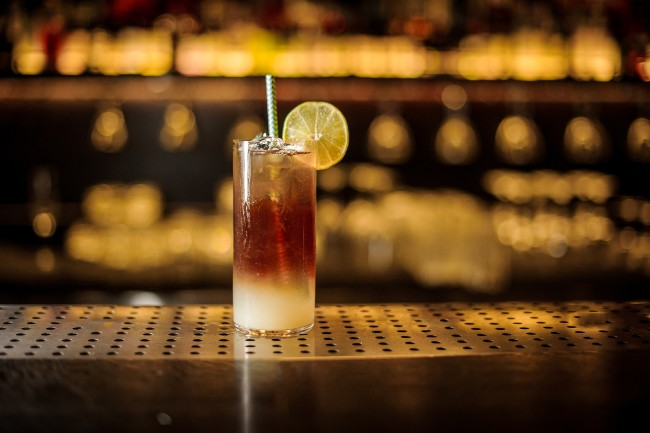 dark cocktail - dark spirits