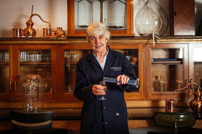 Lesley Gracie at Hendrick's gin distillery