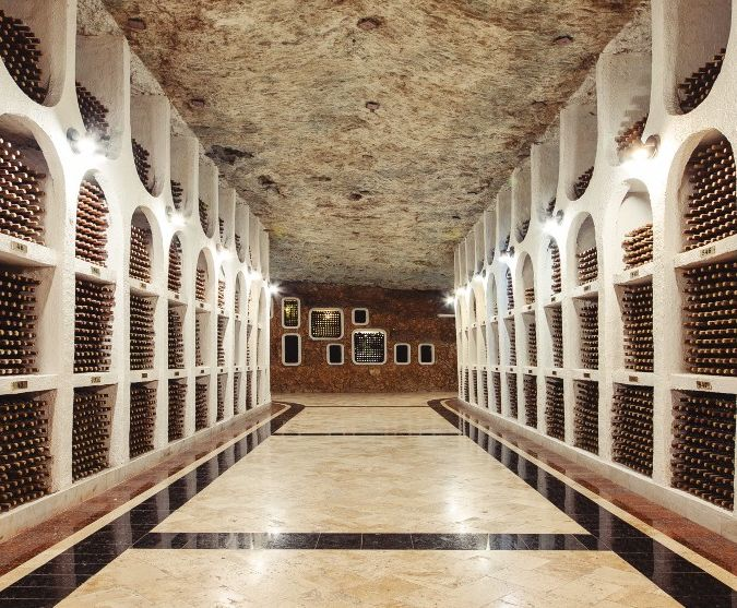 cricova wine cellar in moldova
