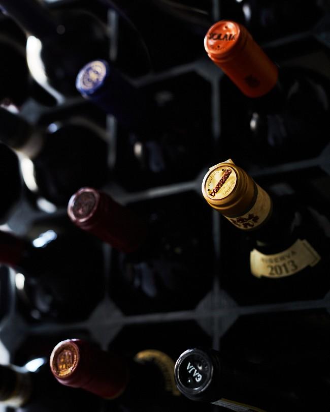 Italian wine rack